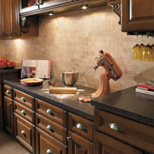 Briarcliff kitchen with a functional area for baking prep