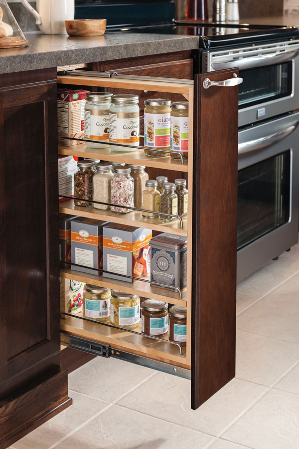 6 Inch Base Pullout Cabinet