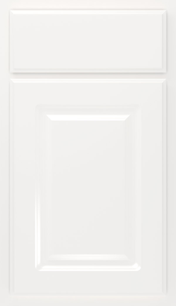 Augusta Thermofoil cabinet door in White