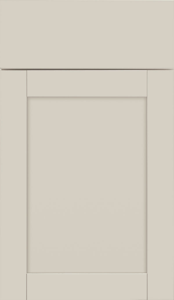 Brellin PureStyle laminate cabinet door in Glacier Gray
