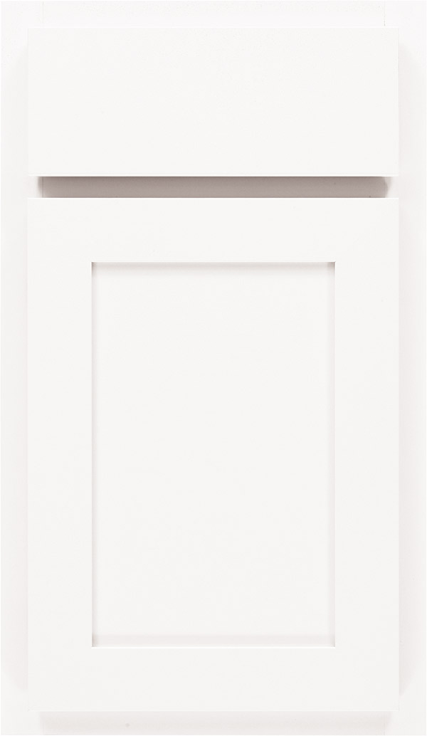 Ellis laminate cabinet door in White