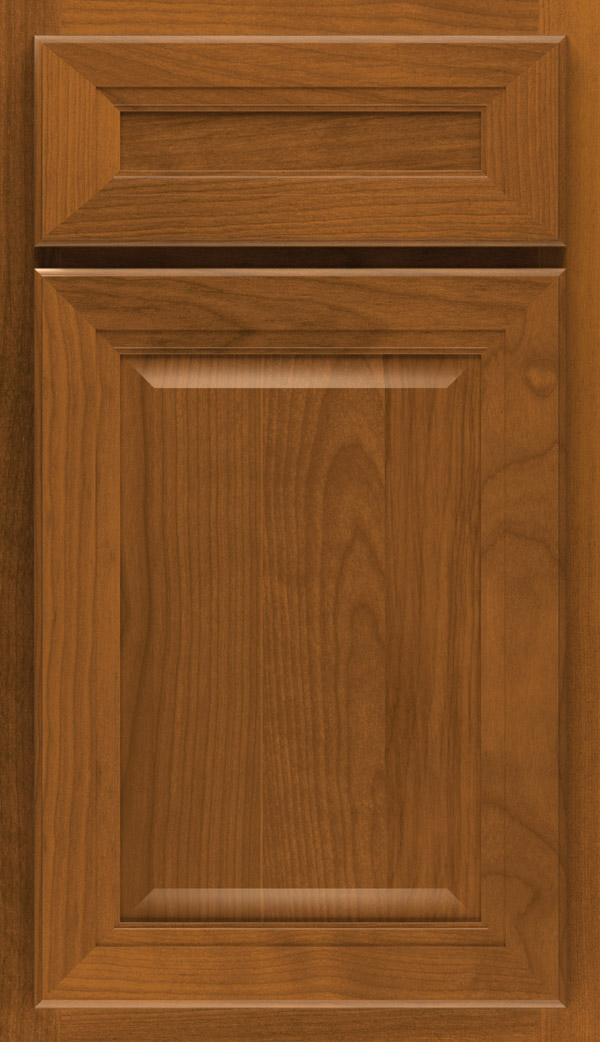 Saybrooke 5-piece Birch cabinet door in Saddle