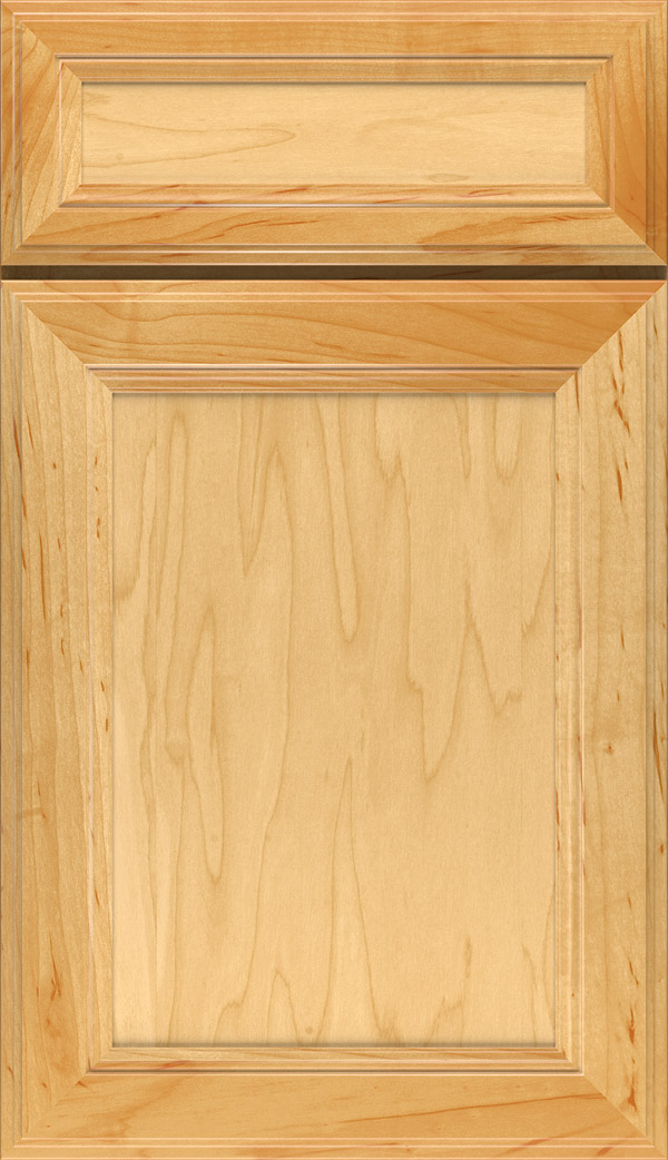 Wentworth 5-piece Maple flat panel cabinet door in Natural