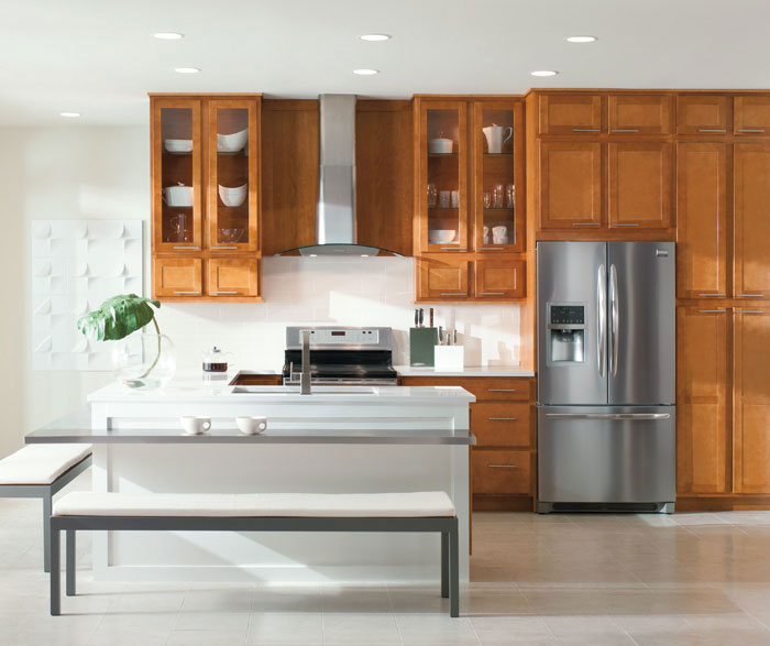 Shaker style kitchen by Aristokraft Cabinetry