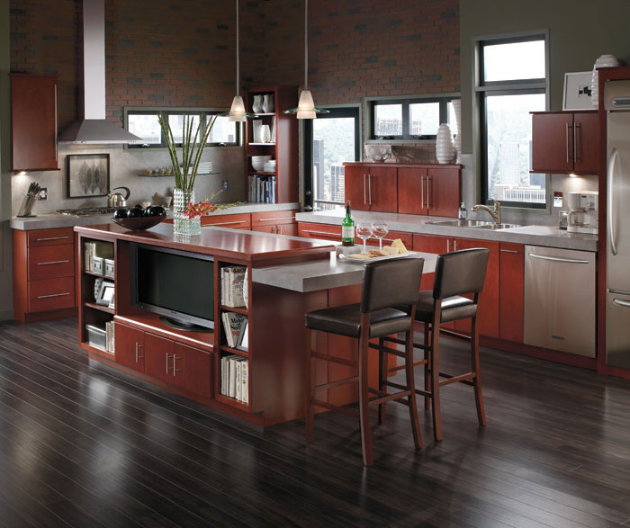 Contemporary kitchen cabinets by Aristokraft Cabinetry