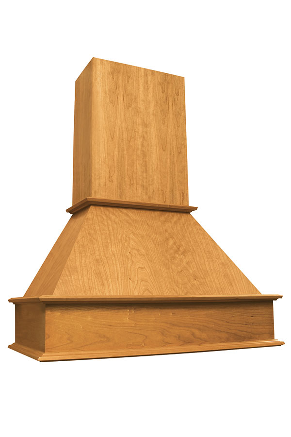Freestanding Transitional Wood Hood