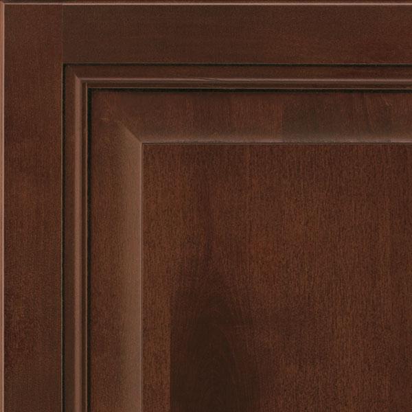Rustic Birch Kitchen Cabinets: Java Glaze Rustic Birch Cabinet Finish