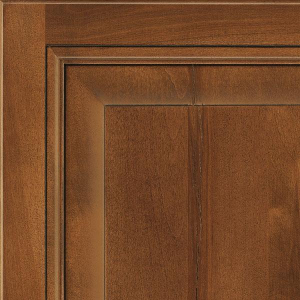 Rustic Birch Kitchen Cabinets: Pumpernickel Glaze Rustic Birch Cabinet Finish