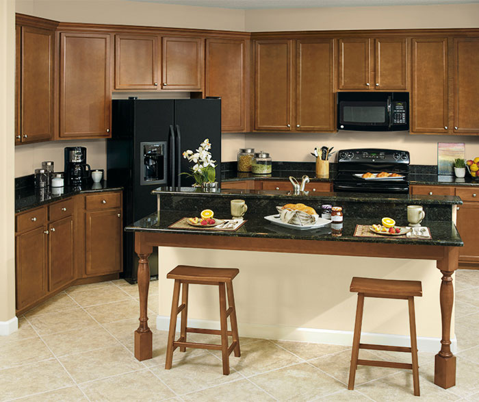 Birch kitchen cabinets by Aristokraft Cabinetry