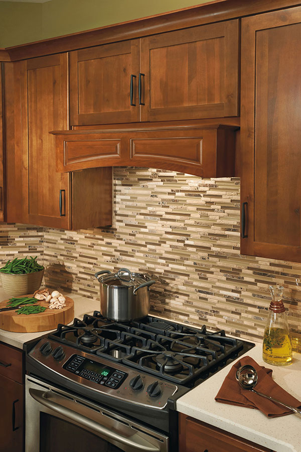 Canopy Wood Hood Arched
